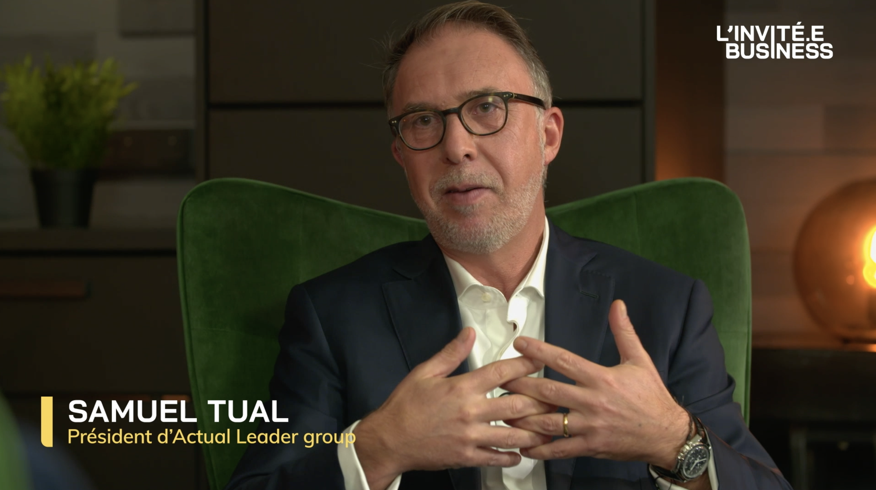 Samuel Tual, Président d'Actual Leader Group