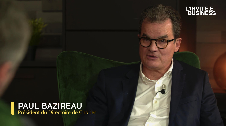Paul Bazireau, Président du Directoire de Charier