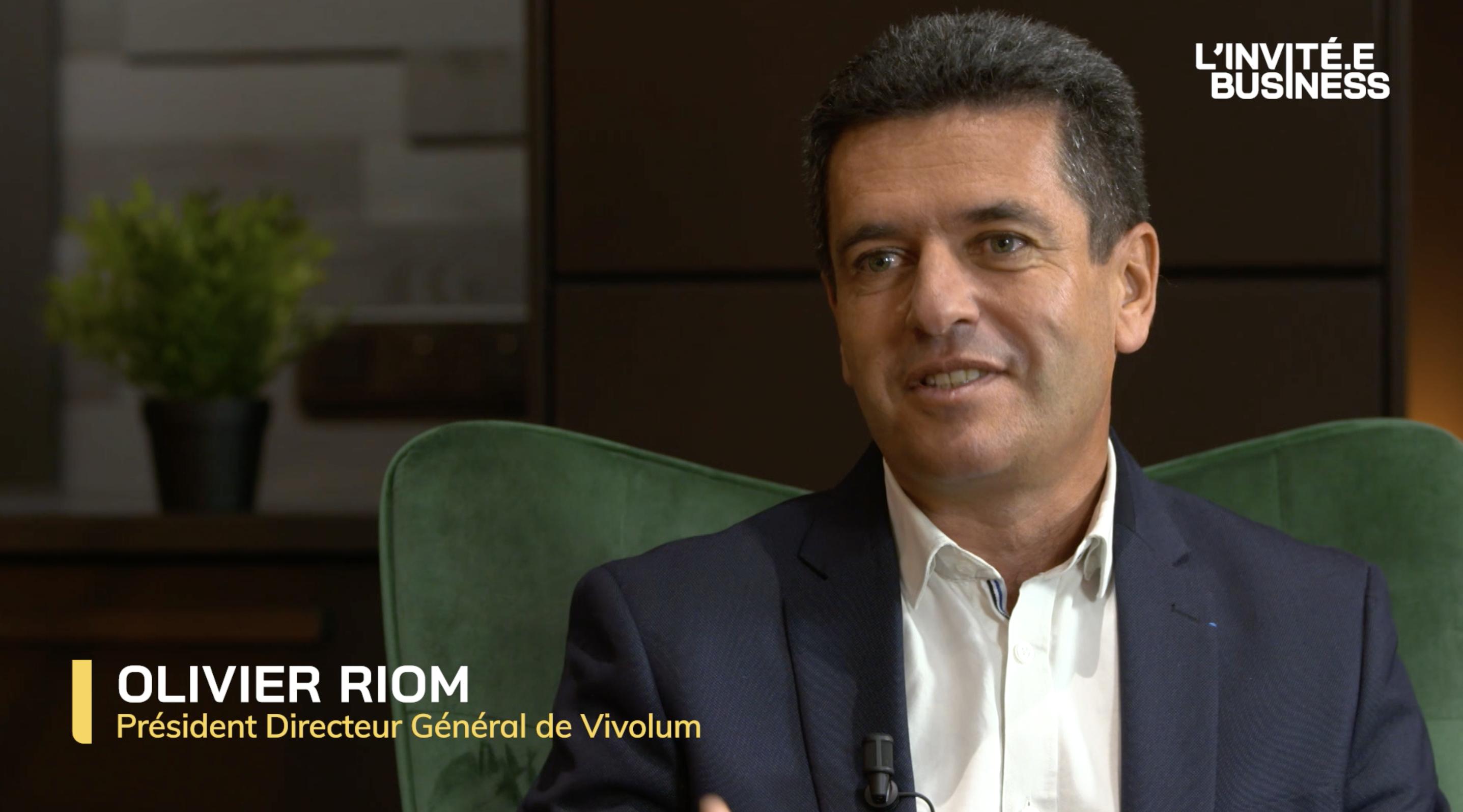 Olivier Riom, Président Directeur Général de Vivolum