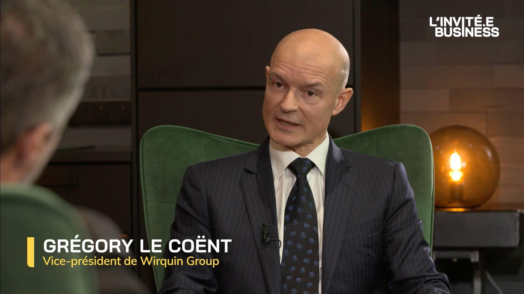 Grégory Le Coënt, Vice-Président de Wirquin Group