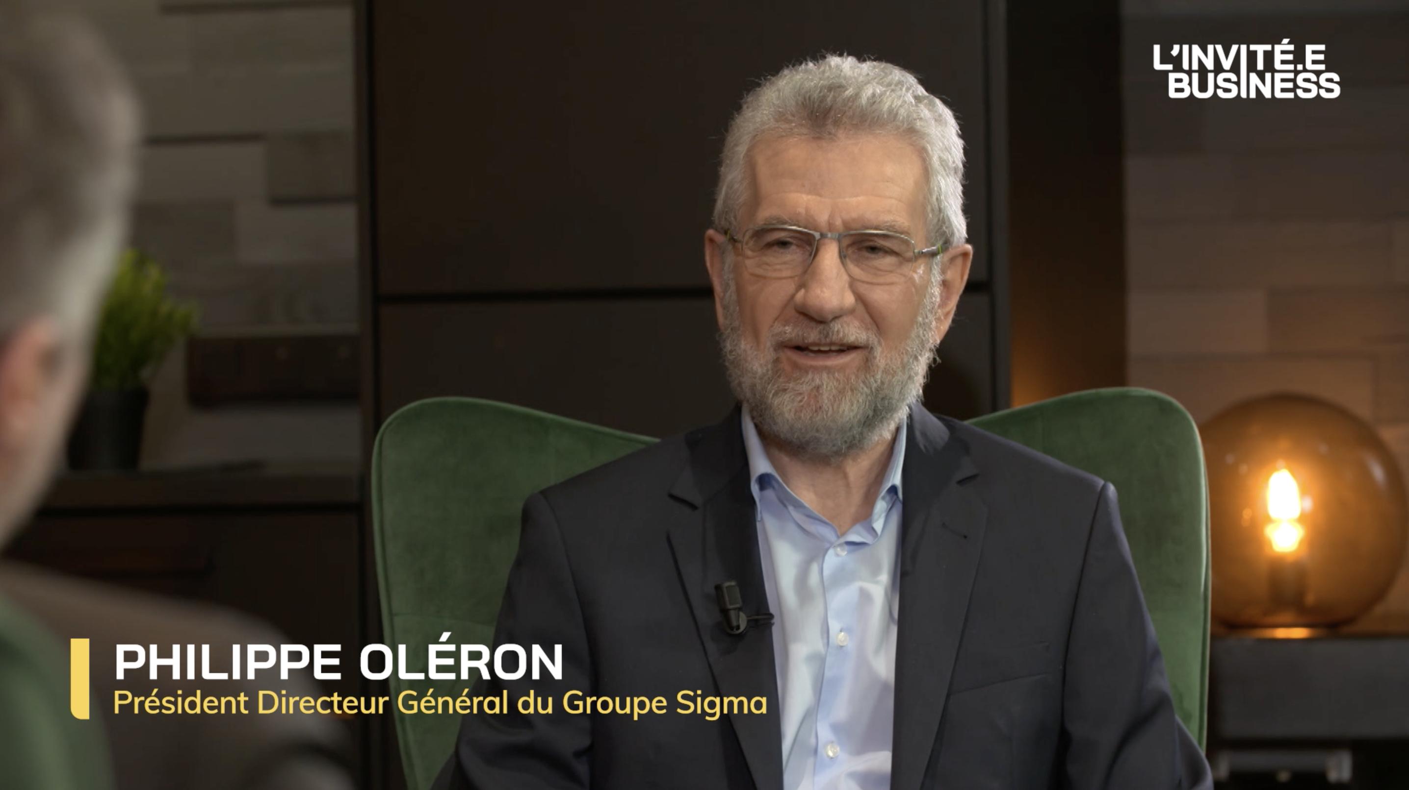 Philippe Oleron, Président Directeur Général du Groupe Sigma