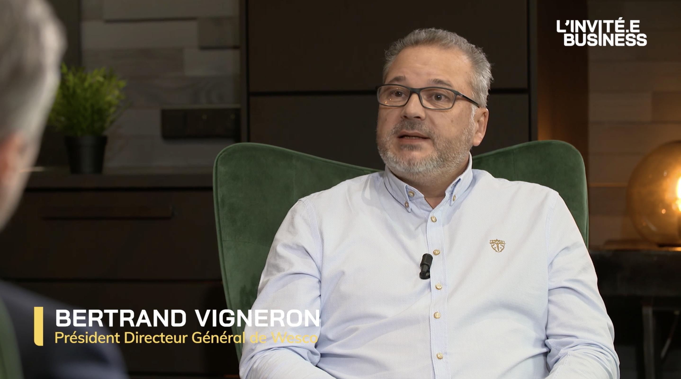 Bertrand Vigneron, Président Directeur Général du Groupe Wesco