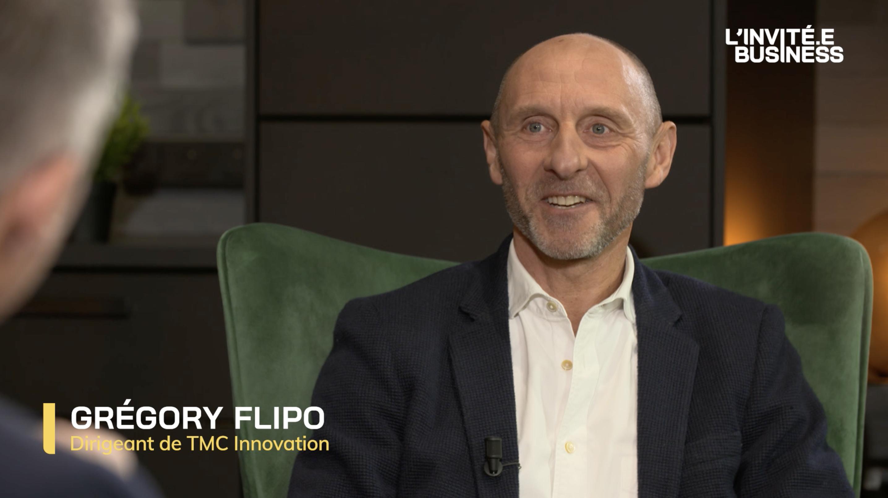 Gregory Flipo, Dirigeant de TMC Innovation
