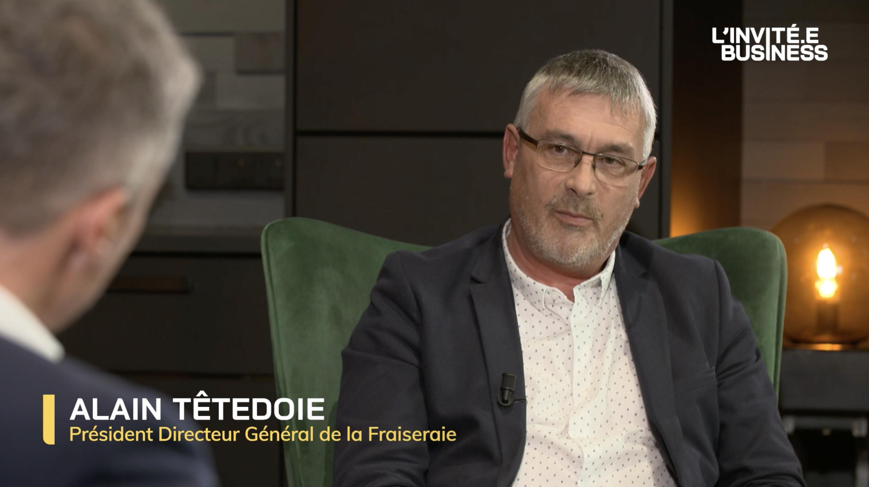 Alain Têtedoie, Président Directeur Général de la Fraiseraie