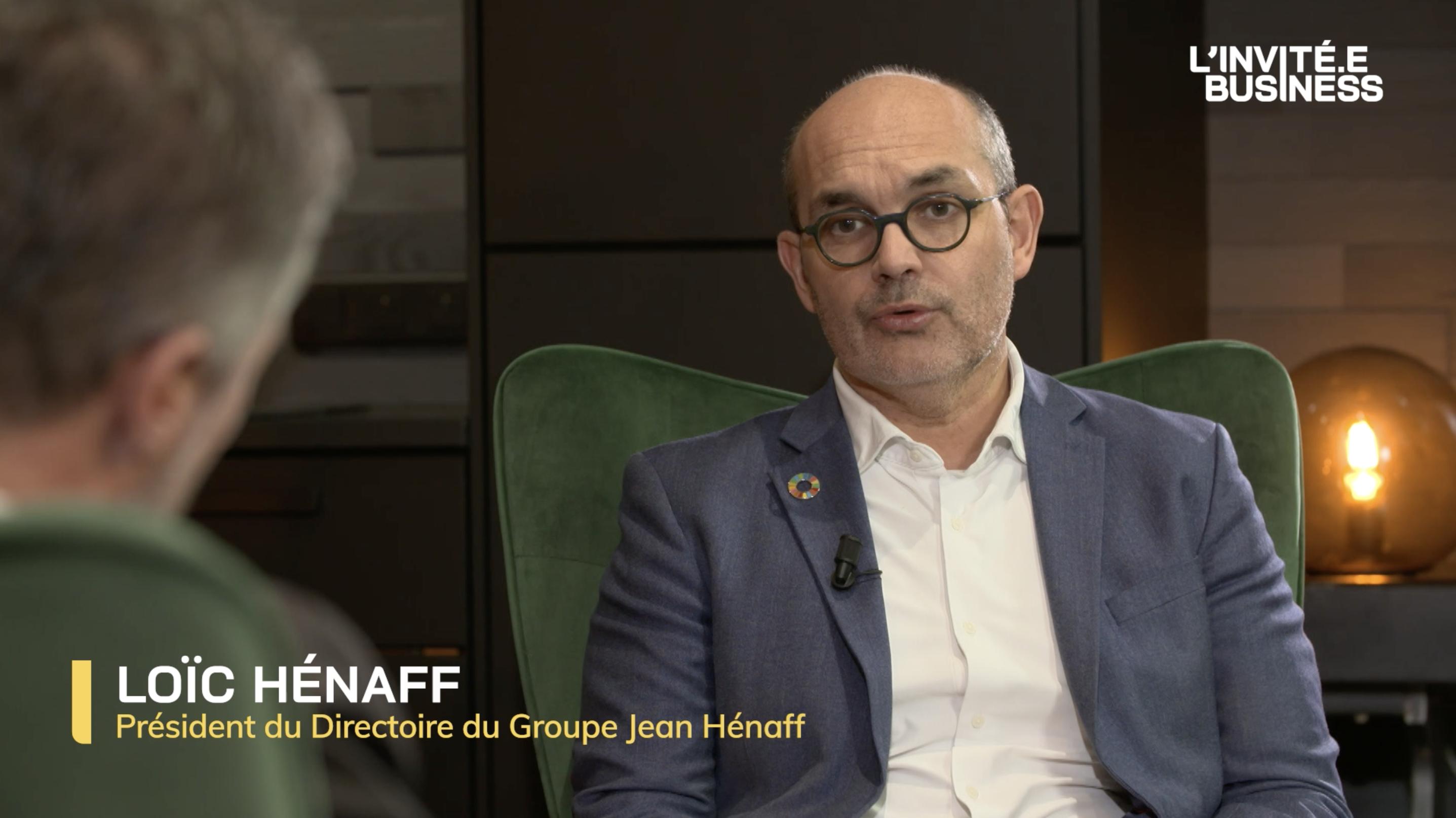 Loïc Hénaff, Président du Directoire du Groupe Hénaff
