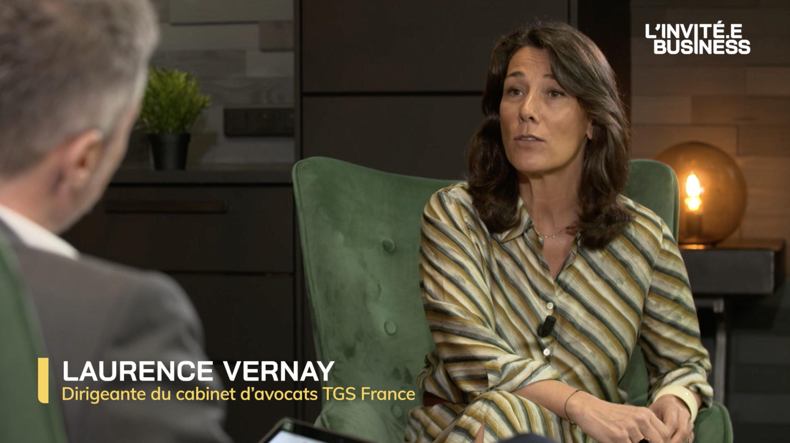 Laurence Vernay, Dirigeante du cabinet d'avocats TGS France