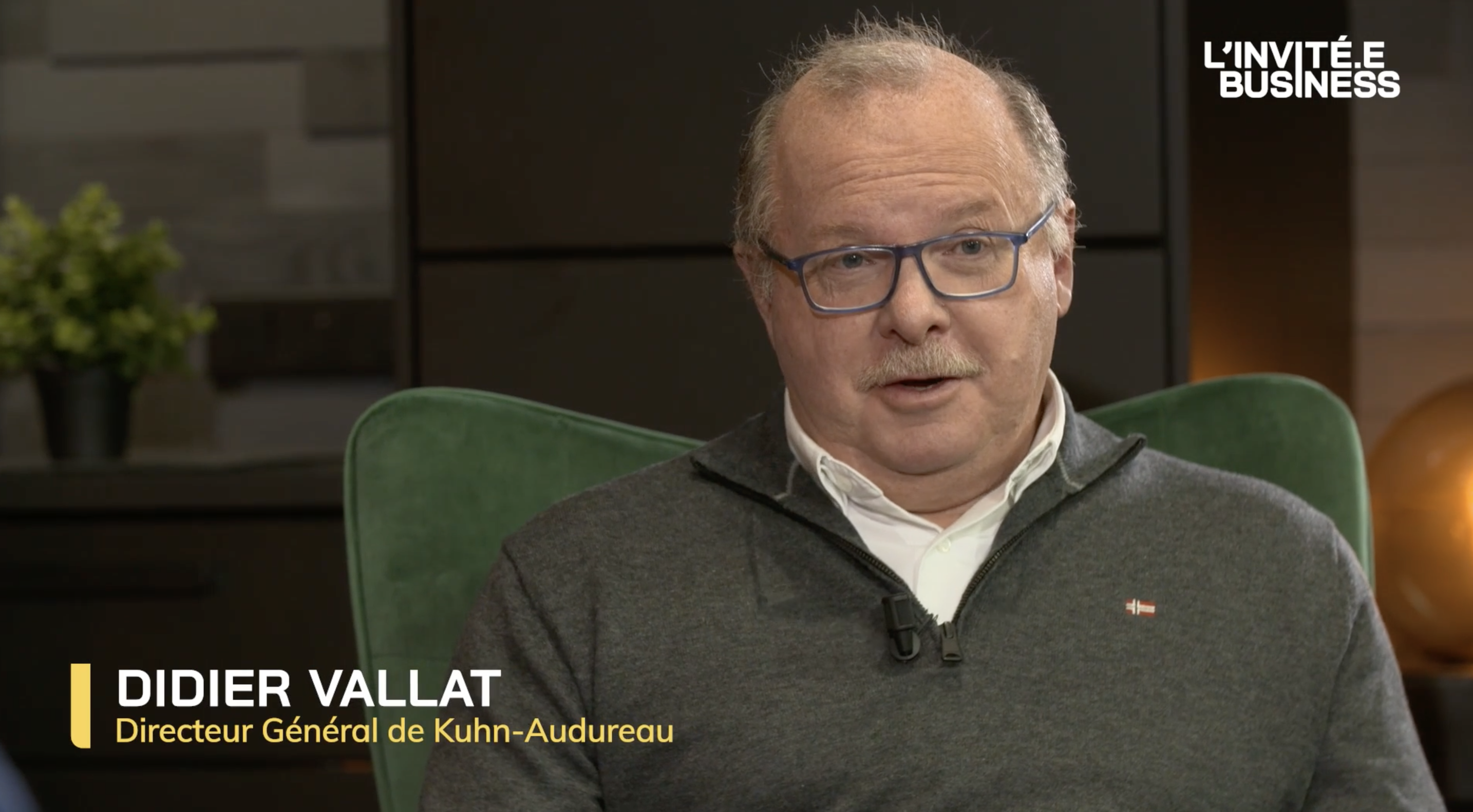 Didier Vallat #39 Directeur Général de Khun-Audureau
